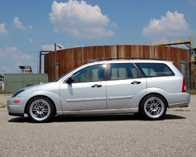 Supercharged Ford Focus Wagon