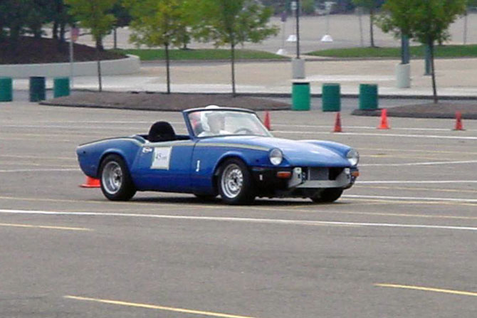 13b Rotary Powered Triumph Spitfire