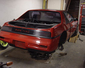 V8 Fiero Engine Out