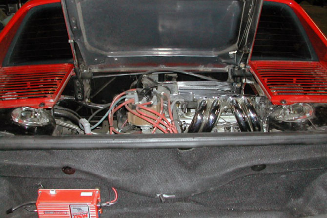 V8 Fiero Engine